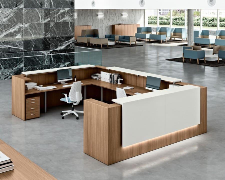 Arredo ufficio reception vanoncini for Reception ufficio
