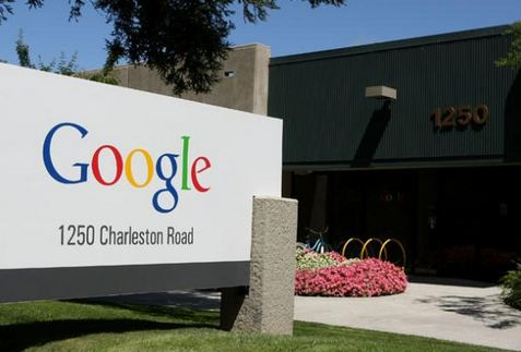 b google logo palline